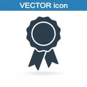 Placa con el icono de cintas — Vector de stock