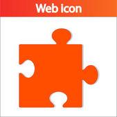 Icône de pièce de puzzle — Vecteur