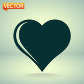 Сердечный символ — Cтоковый вектор