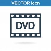 DVD video icon — Vetorial Stock