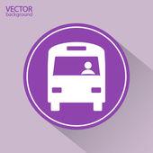 ícone de ônibus — Vetorial Stock