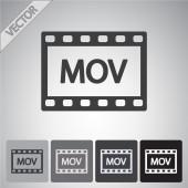 Video icon design — Stock Vector