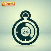Stopwatch icon — Stockvektor