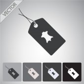 Tag icon design — Vector de stock