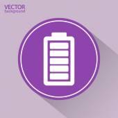 Battery load icon — Stockvektor