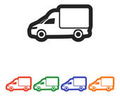 ícone de caminhão — Vetor de Stock