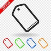 Tag icon design — Stockvektor