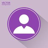 Business man pictogram — Stockvector