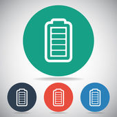 Icône de charge de batterie — Vecteur