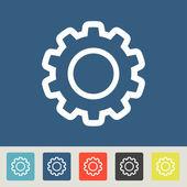 Ustawienia zestaw ikon — Wektor stockowy