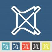 Mute icons set — Vetorial Stock