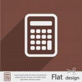 Icona calcolatrice — Vettoriale Stock