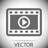 Movie icon — Stock Vector