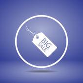 Tag icon design — Vettoriale Stock