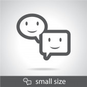 Speech bubble icon — Stock Vector