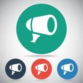 Speaker icon design — Stock Vector
