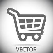 Shopping cart icon — Cтоковый вектор