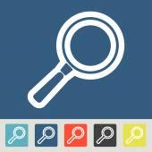 Magnify icons set — Stockvektor