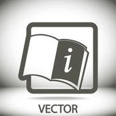 Livre ouvert — Vecteur
