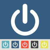 Power icon design — Stock Vector