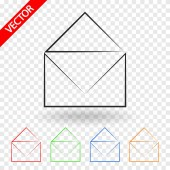 Envelope Mail icon — Stock Vector