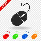 Computer mouse icon — Stock Vector