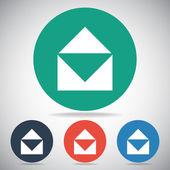 Ícone de correio envelope — Vetor de Stock