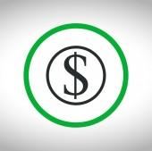 Money icon design — Stock Vector