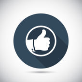 Like Dislike icons set — Stock Vector