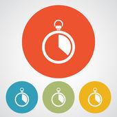 Stopwatch icon design — Wektor stockowy