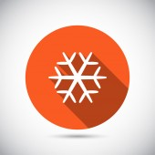 Snowflake icon — Stock Vector