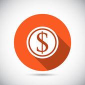 Conception icône argent — Vecteur