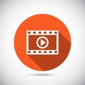 Video ikonu design — Stock vektor