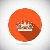 Crown icon — Stock Vector
