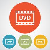 видео значок дизайн — Cтоковый вектор