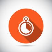 Disegno dell'icona cronometro — Vettoriale Stock