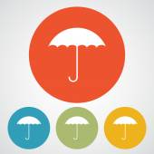Umbrella icon design — Wektor stockowy