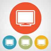 监视器图标设计 — 图库矢量图片