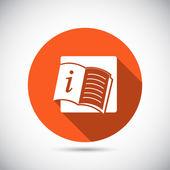 Açık kitap — Stok Vektör