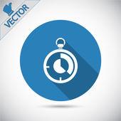 Icona del tempo — Vettoriale Stock