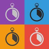Stopwatch pictogram ontwerp — Stockvector