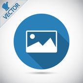 Photograph icon — Stock Vector