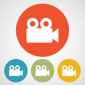 Video camera icon — Stock Vector