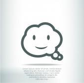 Речевой символ пузыря — Cтоковый вектор