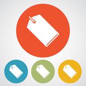 Tag Icondesign — Stockvektor
