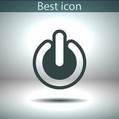 Power icon design — Stockvektor