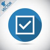 Check mark — Stock Vector