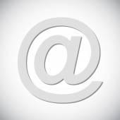 E-mail internet icon — Stock Vector