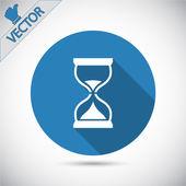 Hourglass icon design — Stock Vector