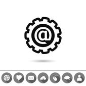 E-mail internet icon — Stock Vector